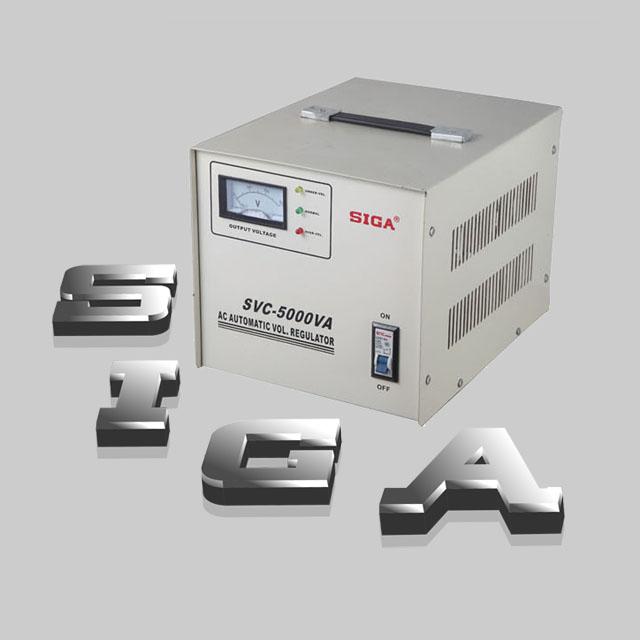 AC Automatic Voltage Regulator SVC-5000VA,high accuracy voltage